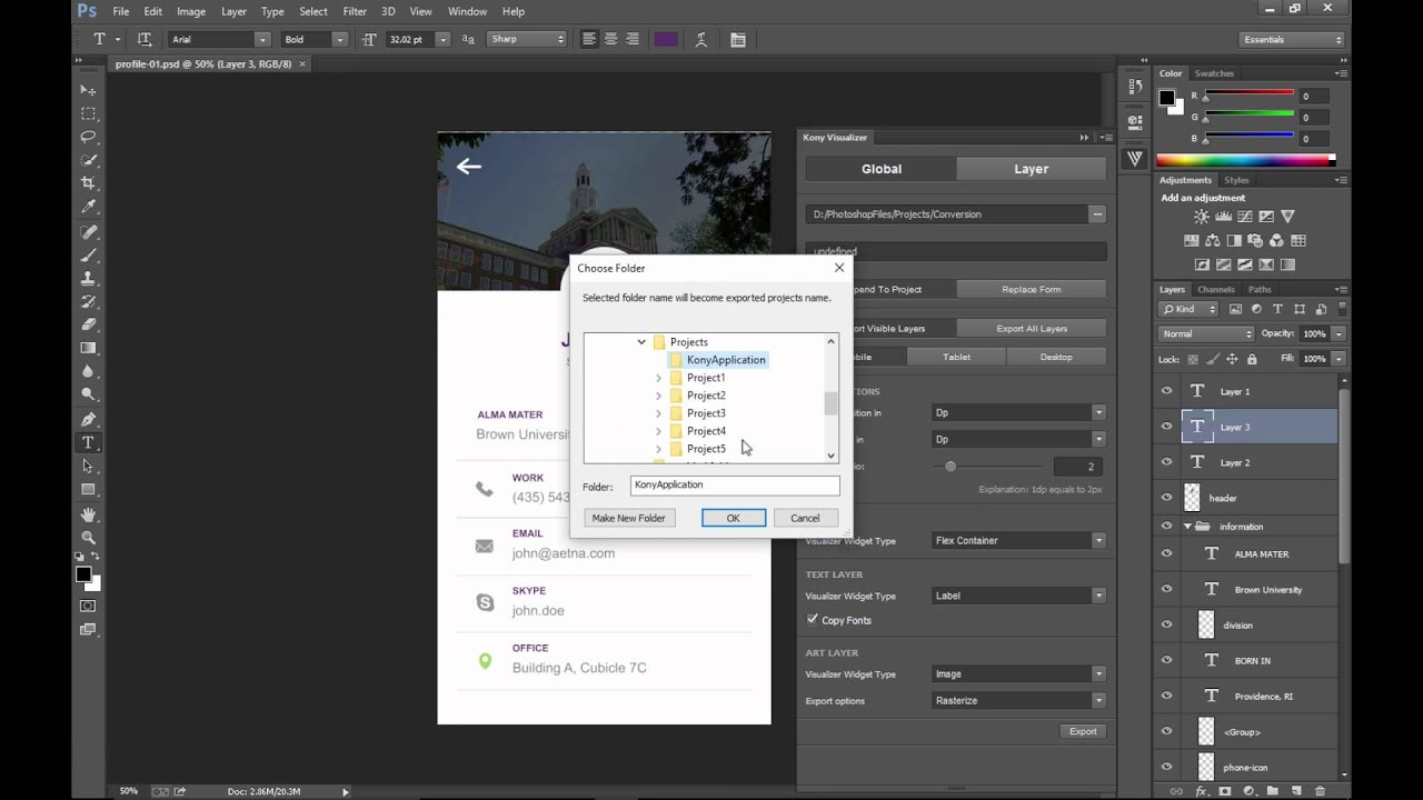 Integration with Adobe Photoshop