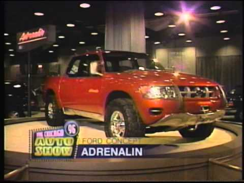 Concept Vehicles at the 1996 Chicago Auto Show - YouTube