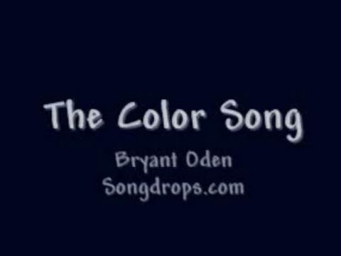 FUNNY SONG #11  The Color Song