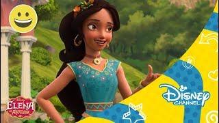 Elena de Avalor Practica de cetro con Zuzo Disney Channel Oficial