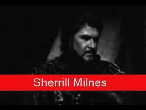 Sherrill Milnes: Verdi - Macbeth, 'Pietà, rispetto, amore'