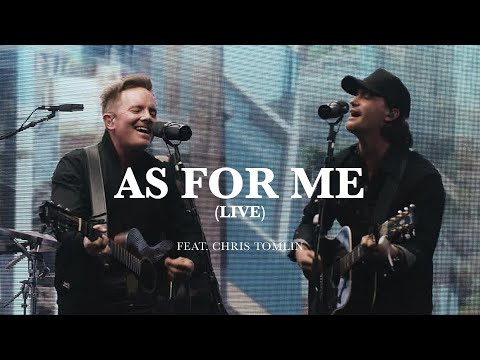 Pat Barrett - As For Me (feat. Chris Tomlin) (Live)