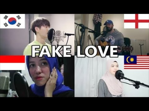 Who Sang It Better: BTS (방탄소년단) FAKE LOVE (South Korea, England, Malaysia, Indonesia)