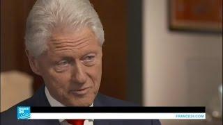 بيل كلينتون يطمئن جمهور زوجته عن حالتها الصحية