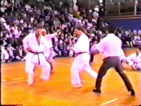 Karate Kumite Frank Brennan