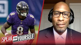 Lamar Jackson needs this Week 6 win more than Carson Wentz - Bucky Brooks | NFL | SPEAK FOR YOURSELF