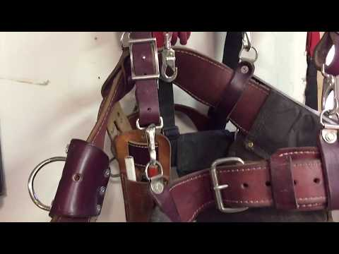 Occidental Leather Suspenders & DIY Alternative Plus My Leather Nail Bags