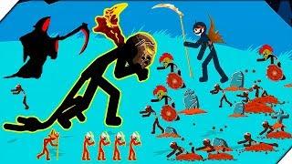 ЗОМБИ АНГЕЛ ПРОТИВ СТИКМЕНОВ - Stick War Legacy zombie mode # 3