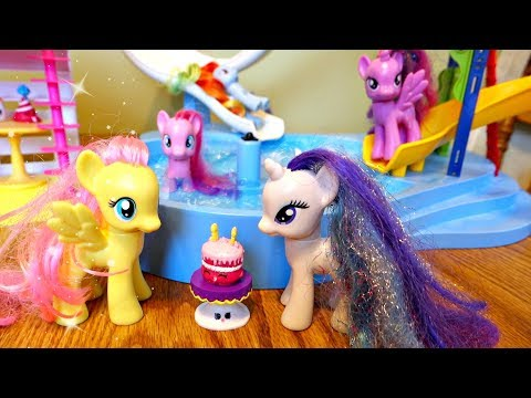 MY LITTLE PONY HOTEL POOL PARTY! | Mommy Etc