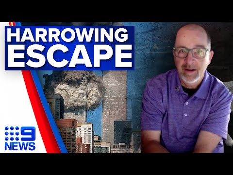 Download How one man escaped from the top of the World Trade Center   Exclusive   9 News Australia