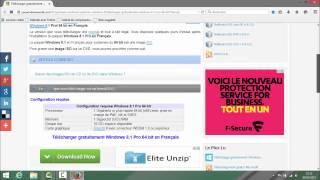 Telecharger Et Installer WINDOWS 8.1 Gratuitement sans clé usb version Francaise 2015