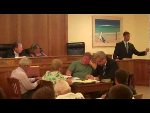 Atlantic Beach NY Lifeguards, Village Meeting - Pt 1 of 2