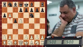 LIVE Blitz #2942 (Speed) Chess Game: White vs Tasmaniandevil in Benkö gambit half accepted