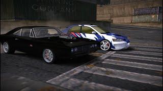 Dominic Toretto vs Earl / Dodge Charger RT vs Mitsubishi Lancer Evo VIII ( NFS MW Blacklist 9 )