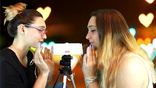 TWIN INAUDIBLE WHISPER 👭! ASMR DOUBLE RELAX FOR YOU!!