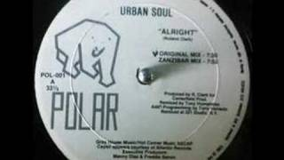 Urban Soul - Alright (Zanzibar Mix) [1991]
