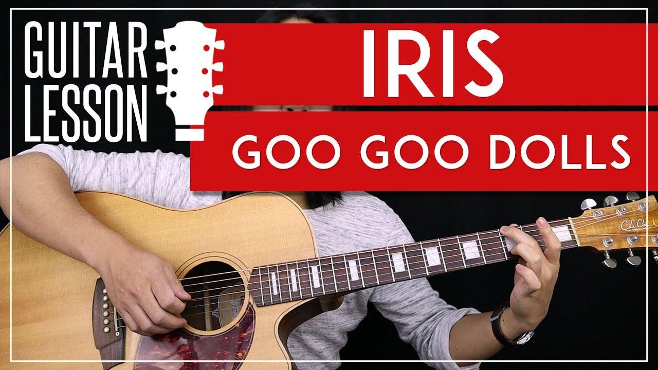 Iris (goo goo dolls) piano cover lesson with chords/lyrics youtube.