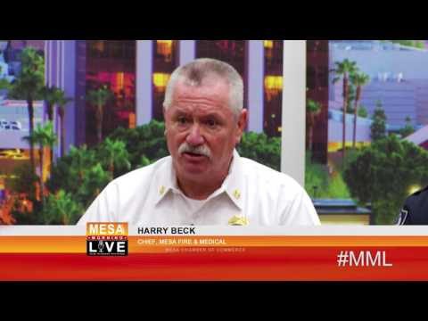 Mesa Police and Fire Chiefs Visit Mesa Morning Live