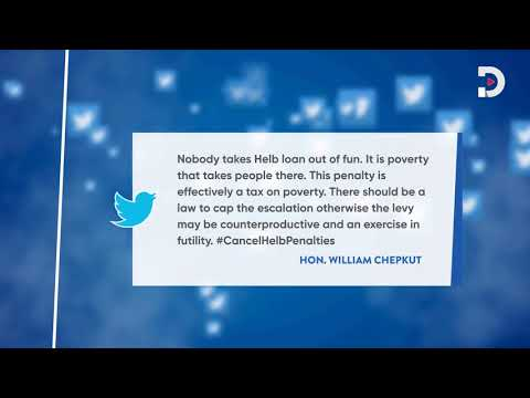 Kenyans take to social media to demand the cancellation of HELB penalties |#CancelHELBPenalties