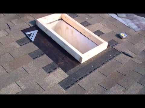 V Lux Skylight Install How To Youtube