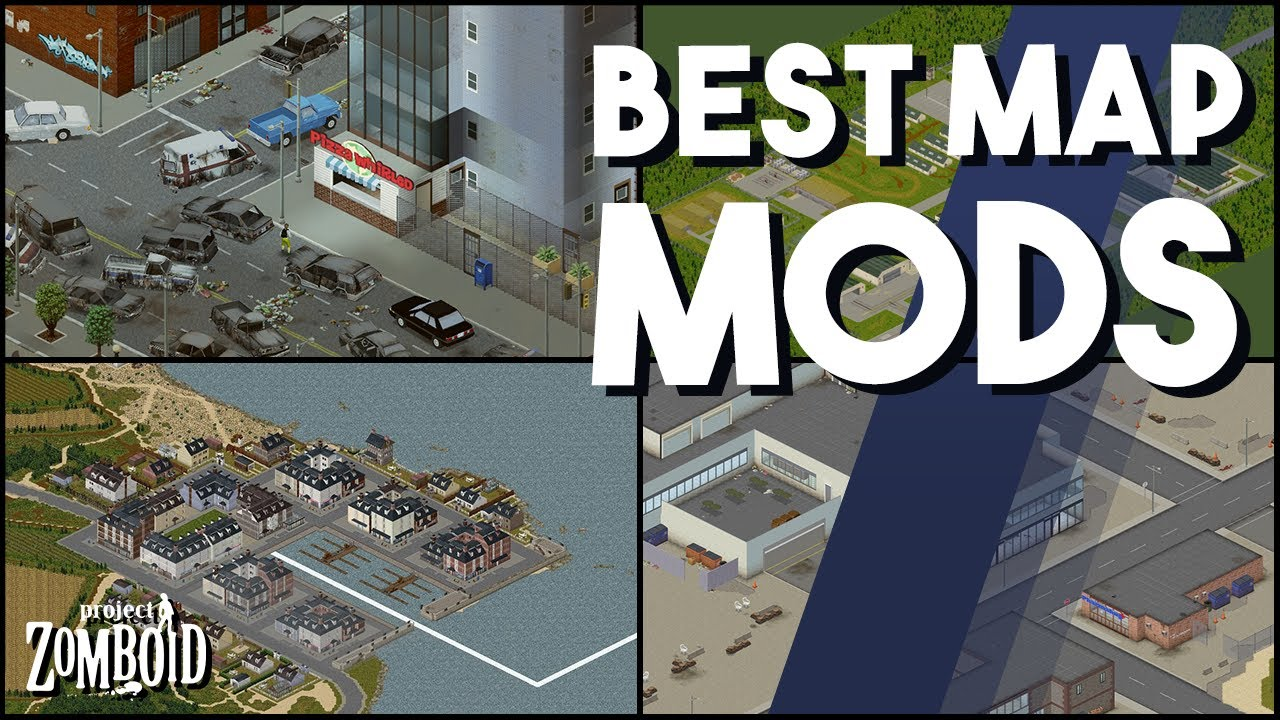 The Best Project Zomboid Map Mods You HAVE To Try Which Project Zomboid  Maps Are Worth Trying
