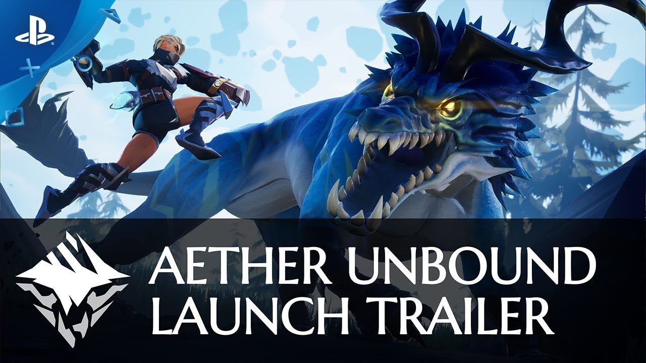 Dauntless - Aether Unbound Launch Trailer | PS4