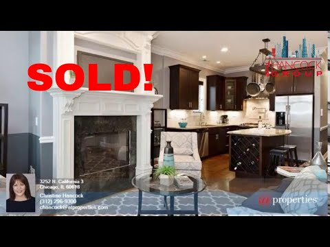 SOLD! 3252 N. California #3 East Avondale Penthouse For Sale