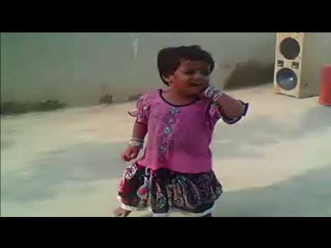 Small Girl dancing on mujra songs video