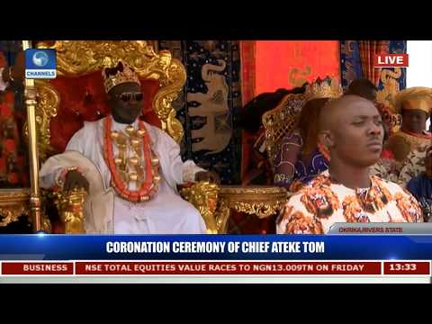 Coronation Ceremony Of HRM Ateke Tom Pt.1  Live Coverage 