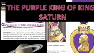 THE PURPLE KING OF KINGS SATURN
