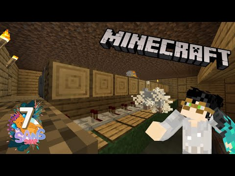 EZ Farm ANIMAL'S COIN pakek KAMBING!! AUTO KAYA #07 |SANS SMP| Minecraft Indonesia
