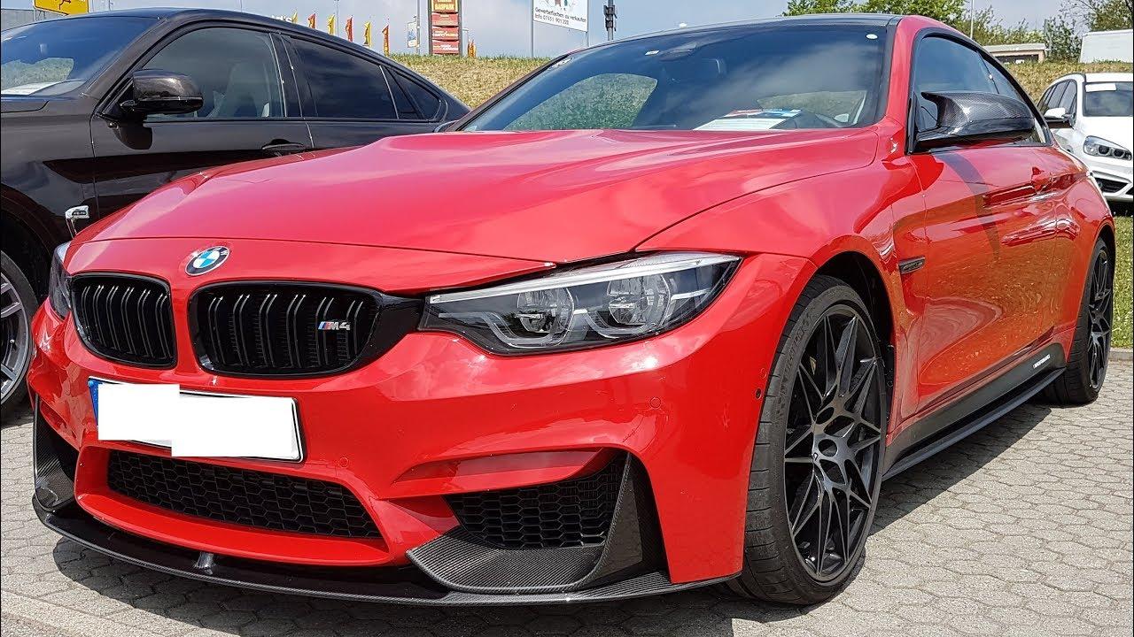 BMW M4 Coupè Ferrari Rot Performance, pure Sound ...