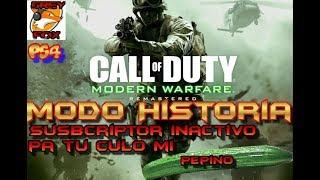 Call of Duty 4 Modern Warfare Remastered / PS4 / Campaña