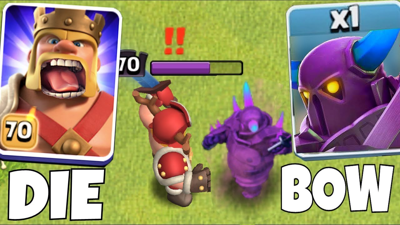 "LVL 70 King vs. MAX P.E.K.K.A ""Clash Of Clans"" BATTLE OF THE STRONGEST!!"