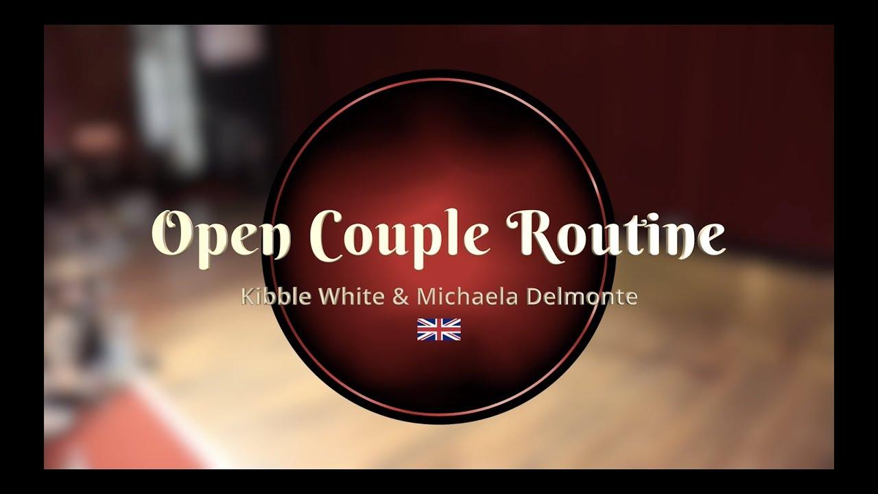 cff3030d3 Savoy Cup 2019 - Open Couple Routine - Kibble White   Michaela Delmonte