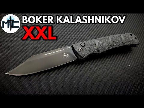 Boker XXL Kalashnikov Automatic Folding Knife – Overview and Review