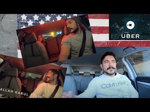 Amerika'da Uberde Kadınlar Matinesi (Korona Öncesi Keyifli Zamanlar)   Şanslı Uber Turu, Komik Taksi