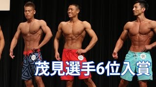 2016 関東オープンフィジーク 茂見選手 yanogym JBBF