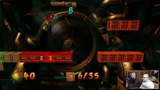 NoThx & Gataka playing Crash Bandicoot 2 EP05