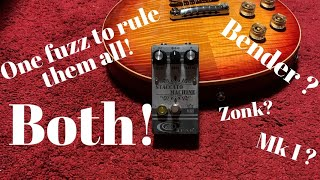 One fuzz to rule them BOTH! Mojo Gear Fx STACCATO MACHINE