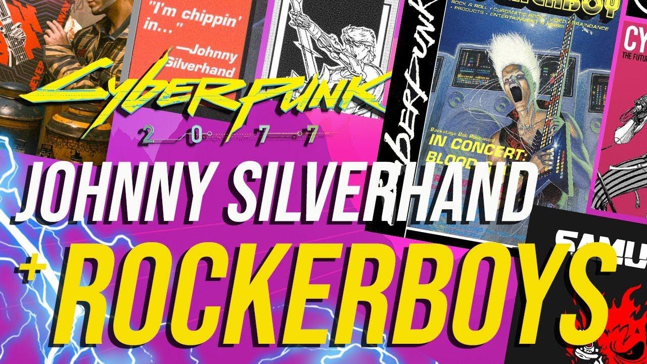 Cyberpunk 2077 - Johnny Silverhand & Rockerboys! - YouTube