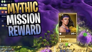 FORTNITE - Mission Rewards Can Now Give Mythic Lead Survivors!