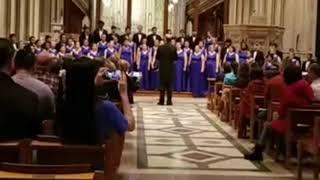 Cane Bay choir performs at Washington National Cathedral thumbnail