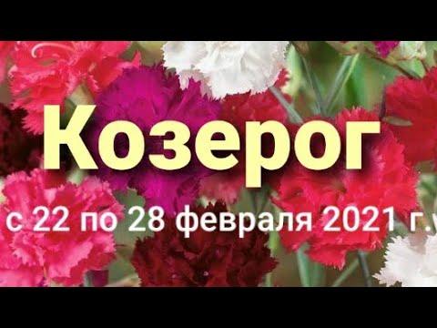 Козерог Таро-гороскоп с 22 по 28 февраля 2021 г.