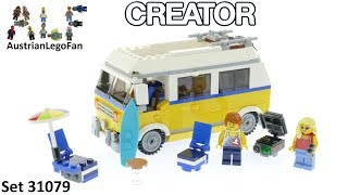 Lego Creator 31079 Sunshine Surfer Van - Lego Speed Build Review