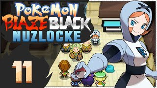 Pokémon Blaze Black Nuzlocke - Episode 11 | Chaos in Castelia!