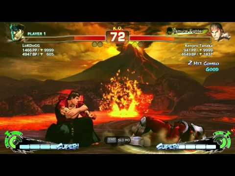 LoKDoGG (Bison) X Kenjiro (Ryu) - Ranked Match - AE2012 - 720p - Live PC