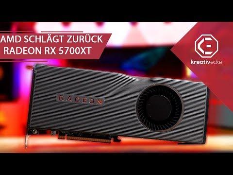 AMD SCHLÄGT ZURÜCK mit  der AMD Radeon RX  5700 und RX 5700 XT - Was können die Karten?