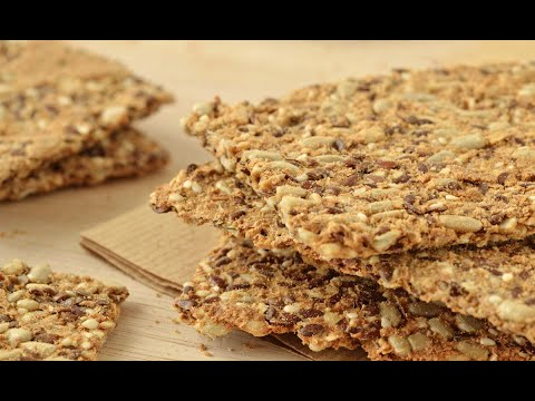 Seed Cracker Recipe And Remedy Against Cancer And Diabetes!