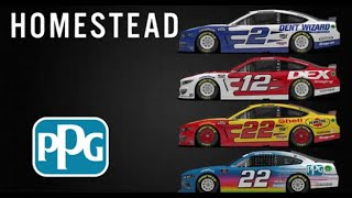 Homestead NASCAR PPG Paint Preview